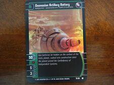 Star Wars TCG SR Geonosian Artillery Battery FOIL 75/90