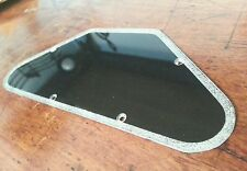 Back plate / Control Cover.. Black / Silver Flake . Fits Gibson SG USA..   JAT