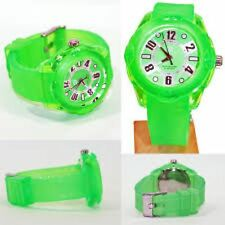 NEW Tendence 02013011 Women's Neon Green Color Hi-Tech Polycarbonate Tough Watch
