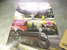 MTH Electric Model Trains BRAND NEW 2015 Volume One & Two Full Color Catalogs