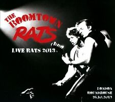 Live Rats 2013 [Digipak] * by The Boomtown Rats (CD, Feb-2014, 2 Discs,...