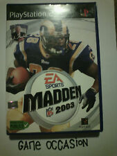 MADDEN NFL 2003 PS2 PLAYSTATION 2 SONY COMPLET PAL