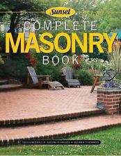 Complete Masonry: Building Techniques, Decorative Concrete, Tools and -ExLibrary