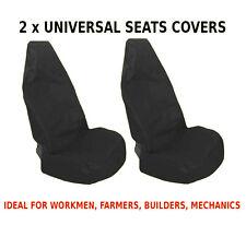 Coche 2x Frontal cubiertas de asiento Protector para Volkswagen T5 Transporter T4