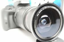 Ultra Wide Angle Macro Fisheye Lens for Canon Eos Digital Rebel  & EF 24-85 USM