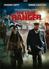 The Lone Ranger (DVD, 2013) DISNEY  JOHNNY DEPP