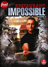 RESTAURANT  IMPOSSIBLE DVD - SEASON 3 NEW DVD SEALED Free Shipping FOOD NETWORK