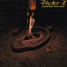 1 CENT CD Going Deaf for a Living - Fischer-Z JAPAN MADE DISC/SMOOTH JEWEL CASE