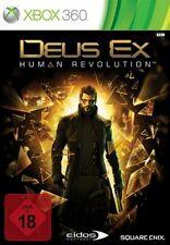 XBOX 360 Deus Ex Human Revolution DEUTSCH Gebraucht/Sehr guter Zustand