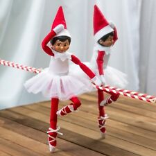 ELF ON THE SHELF Twinkle Toes Ballet Slippers Tutu Girl Doll Clothes Outfit New