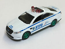 Greenlight 1/64 GREEN MACHINE NYPD New York City Police Ford Interceptor #AA