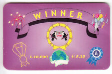 EUROPE  TELECARTE / PHONECARD .. ITALIE 10.000L WINNER ITS OISEAU TOUCAN TUCAN