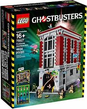 BRAND NEW LEGO GHOSTBUSTERS FIREHOUSE HEADQUARTERS 75827 FIRE HOUSE GHOST BUSTER