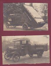 PHOTOS - 080814 - AUTO CAMION DE DION BOUTON vers 1910 VILLE DE ROUBAIX