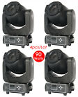 4pc/lot Pro 90W 2gobo 3 prism LED Spot Moving Head DJ Stage Party Disco Lights
