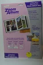 """Zoom Album Software Materials to Make 3 3""""x3"""" Photo Albums With 12 Photos Ea"""
