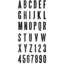 """Simply Said Alphabet Dies 1""""- 2"""" Sizzix Bigz XL No. 658563  by Tim Holtz"""