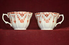 "2 pc Lot 2622 Royal Albert Cup 1 perfect and 1 slight flaw 2.5"" tall"