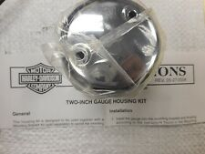"Genuine HARLEY DAVIDSON   2"" inch Gauge Housing Kit , NEW !! 68206-05"
