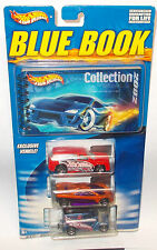 2002 Hot Wheels Blue Book Collection Set, New