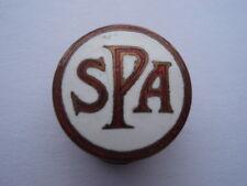 Scarse c1950s VINTAGE Spa (Spar) MOTOR RACING circuito Souvenir SMALTO Bavero Distintivo