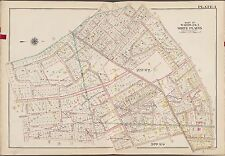 1910 G.W. BROMLEY, WESTCHESTER, NY, WHITE PLAINS (WARDS 2 & 3), COPY ATLAS MAP