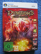PC DVD Rom Spiel Dungeons - Gold Edition (PC, 2012, DVD-Box) The Dark Lord Addon