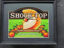 SHOCK TOP HONEYCRISP APPLE WHEAT   BEER SIGN   #682