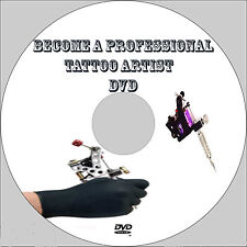 Learn how to Tattoo like a pro dvd video training tutorial