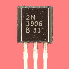 TRANSISTOR 2N3906 SILICIUM PNP 40V 200mA 625mW BOITIER PLASTIQUE TO92