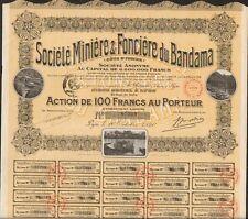 DECO =  Société Minière & Foncière du BANDAMA (COTE d'IVOIRE) (P)