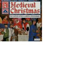 A Medieval Christmas Mark Brown Pro Cantione Antiqua Medieval Wind Ensemble RAR!