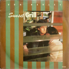 """Don Henley Sunset Grill UK 45 7"""" single +Picture Sleeve"""