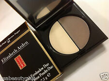 ELIZABETH ARDEN Cream-to-Powder EYESHADOW DUO ( Shell Pink / Brown Sugar #01 ).