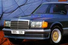 Mercedes W126 S Class GENUINE BBS FRONT SPOILER (Add-on spoiler) to86 SE SEL