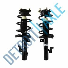 Driver and Passenger Side Front Complete Strut W/ Spring & Mounts Quick Assembly
