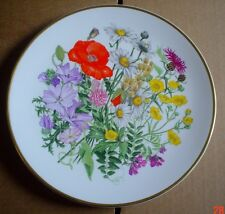 Caverswall Spink Ltd Edition Collector Plate WILDFLOWERS - MEADOW AND GRASSLAND