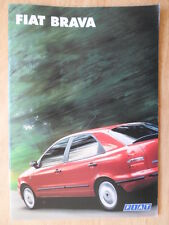 FIAT BRAVA orig 1997 UK Mkt sales brochure