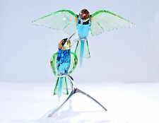 Swarovski Bee-eaters Peridot Large Green Birds Wedding 957128 Brand New in Box