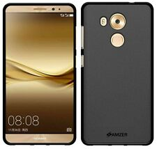 AMZER Exclusive Pudding Matte TPU Soft Case Back Cover For Huawei Mate 8 - Black