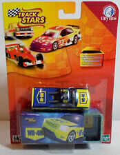 HASBRO 2002 TINY TINS TRACK STARS WD40 UTE RACING CAR EUROPEAN DIE CAST SEALED