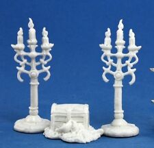 TREASURE PILE AND CANDLEABRA (3) - Reaper Miniatures Dark Heaven Bones - 77138
