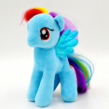 "My Little Pony Rainbow Dash(Blue) Soft Plush Toy Teddy Kids Gift New 7""/18cm"