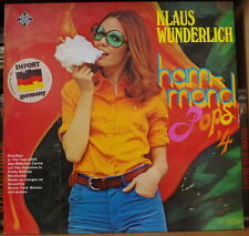 KLAUS WUNDERLICH HAMMOND POPS 4 CHEESECAKE  COVER GERMAN PRESS LP