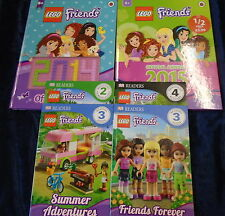 * 6 WONDERFUL LEGO FRIENDS BOOKS by MIXED AUTHORS * UK POST £3.25* PB/HB*