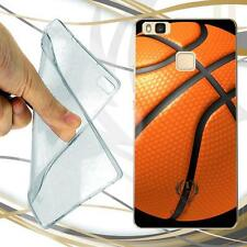 CUSTODIA COVER CASE TPU BASKET BALL PER HUAWEI P9 LITE