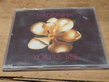 MADONNA - YOU'LL SEE!!!!!!!!!SLIM JEWEL CASE!!! RARE CD !!!!!