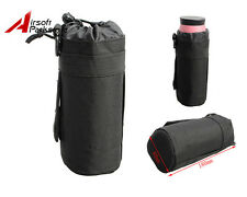 600D Tactical Military MOLLE Water Bottle Pouch Bag Holder Carrier Outdoor Black