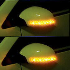 Universal Car 2x Amber SMD 13LED 12V Rearview Side Mirror Turn Signal Lights HOT