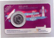 Olanda   5 € 2013 argento Utrecht coincard